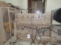 Произведен ремонт системы возбуждения силового генератора ДГУ AC250 AKSA в Тюменской области
