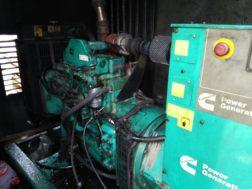 Произведены диагностические работы неисправности топливной аппаратуры дизельной электростанции C80D5 Cummins на строительном предприятии в Свердловской области